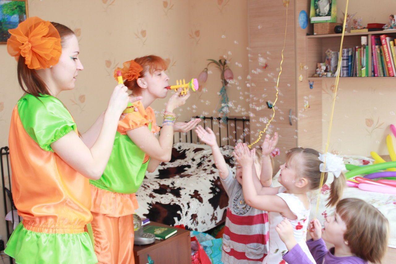 Сценарии детские дни рождения дома